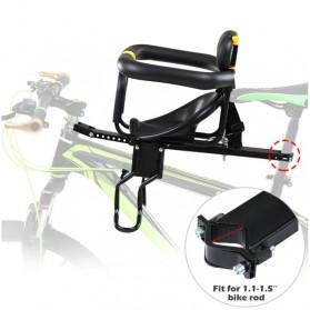 TaffSPORT Boncengan Depan Anak Sepeda Lipat Child Safety Front Seat - Z1 - Black