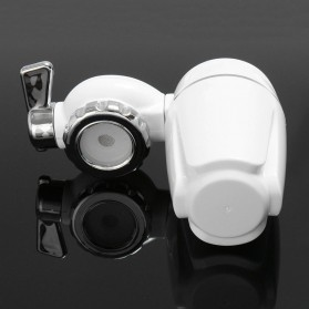 Warmtoo Saringan Filter Keran Air Purifier Ceramic Faucet - HBF-89 - White - 3