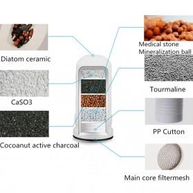Warmtoo Saringan Filter Keran Air Purifier Ceramic Faucet - HBF-89 - White - 5