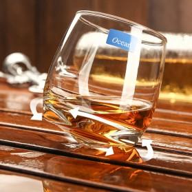 OCEAN Gelas Cangkir Rotatable Cone Wine Glass Cup 270ml - WJS121 - White