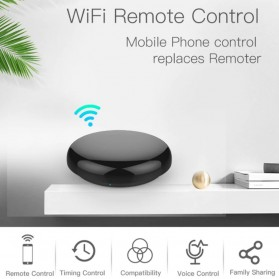 AVATTO Universal Smart Remote Controller WIFI+IR Home Switch - SRW-001 - Black - 4