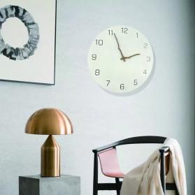 TIMESTYLE Jam Dinding Bulat Quartz Creative Nordic Modern Design - 0316 - White - 3