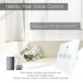 MoesHouse Smart Switch Gorden Curtain WiFi - WS-EUR-CW - White - 2