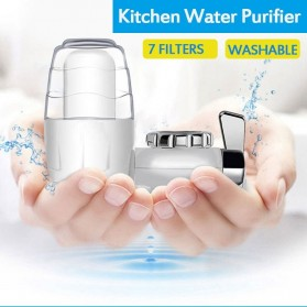 Becornce Saringan Keran Air 7 Layer Water Filter - 8915 - White