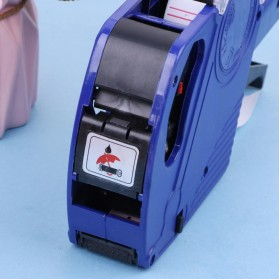 KEYIDE Alat Label Harga Price Labeller Machine Coding - E0S5500 - Red - 6