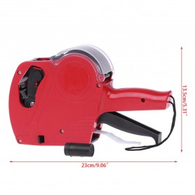 KEYIDE Alat Label Harga Price Labeller Machine Coding - E0S5500 - Red - 7