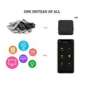 AVATTO Universal Smart Remote Controller WIFI+IR Home Switch - S06 - Black - 2