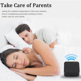 AVATTO Universal Smart Remote Controller WIFI+IR Home Switch - S06 - Black - 5