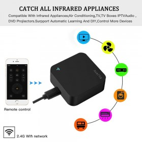 AVATTO Universal Smart Remote Controller WIFI+IR Home Switch - S06 - Black - 7