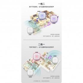 EARKONG Bell Pintu Wireless Doorbell LED 38 Tunes 1 Receiver -  B111 - White - 10