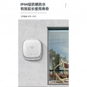 EARKONG Bell Pintu Wireless Doorbell LED 38 Tunes 1 Receiver -  B111 - White - 12