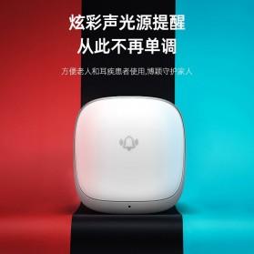 EARKONG Bell Pintu Wireless Doorbell LED 38 Tunes 1 Receiver -  B111 - White - 2