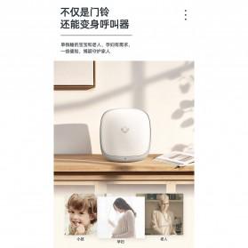 EARKONG Bell Pintu Wireless Doorbell LED 38 Tunes 1 Receiver -  B111 - White - 6