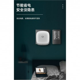 EARKONG Bell Pintu Wireless Doorbell LED 38 Tunes 1 Receiver -  B111 - White - 7