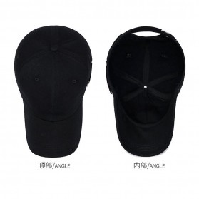 Koedi Topi Baseball Golf Sport Fashion Unisex - K01 - Black - 3