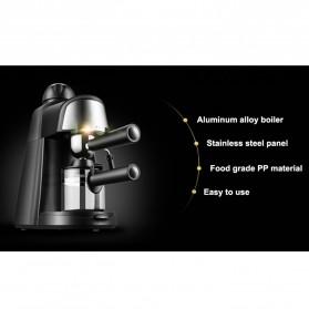 HOTGAGA Mesin Kopi Semi Automatic Espresso Italian Coffee Machine 5 Bar 240ml - CM6810 - Black - 4