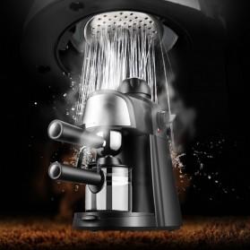 HOTGAGA Mesin Kopi Semi Automatic Espresso Italian Coffee Machine 5 Bar 240ml - CM6810 - Black - 9