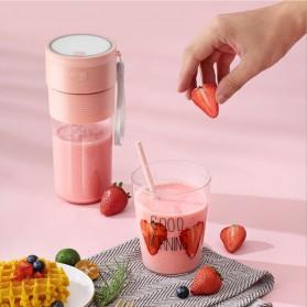 ANKALE Blender Buah Mini Portable Juicer Cup 300ml - PA-G01 - Pink - 4