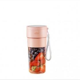 ANKALE Blender Buah Mini Portable Juicer Cup 300ml - PA-G01 - Pink - 5