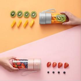 ANKALE Blender Buah Mini Portable Juicer Cup 300ml - PA-G01 - Pink - 6