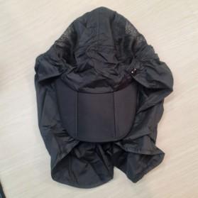 FLYMALL Topi Memancing Tentara Jepang Anti UV Matahari - MH012 - Black - 2