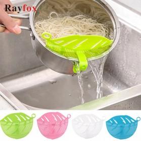 Rayfox Filter Penyaring Nasi Rice Washing Leaf Shape - RY122 - Blue