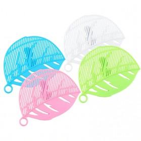 Rayfox Filter Penyaring Nasi Rice Washing Leaf Shape - RY122 - Blue - 5