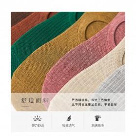 BAMBOO Kaos Kaki Pendek Invisible Bawah Mata Kaki 10 Pasang - A11319CZ - Mix Color - 4
