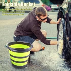 AsyPets Baskom Ember Lipat Water Bucket Foldable Collapsible 10 Liter - ST368 - Blue - 3