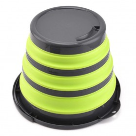 AsyPets Baskom Ember Lipat Water Bucket Foldable Collapsible 10 Liter - ST368 - Blue - 5