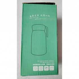 Simple Life Botol Minum Double Layer with Lanyard - SM-8229 - Mix Color - 8