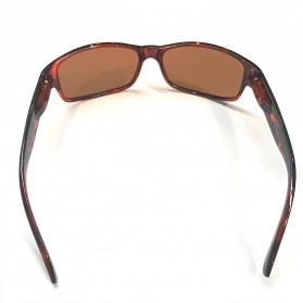 AOFLY Kacamata Retro Style Polarized - 1190 - Black - 2