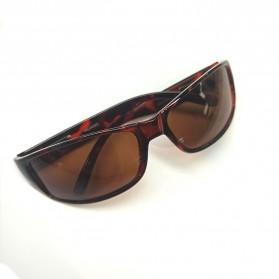 AOFLY Kacamata Retro Style Polarized - 1190 - Black - 3