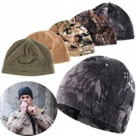 TRUE Topi Kupluk Beanie Hat Pria Wanita - EC003 - Black - 3