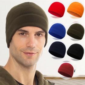 TRUE Topi Kupluk Beanie Hat Pria Wanita - EC003 - Black - 7