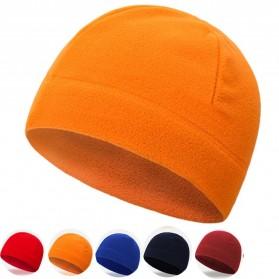 TRUE Topi Kupluk Beanie Hat Pria Wanita - EC003 - Black - 9
