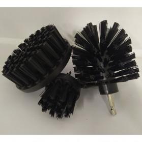 MSHIER Kepala Sikat Bor Elektrik Power Cleaning Brush Head 3 PCS - DB003B - Black - 2
