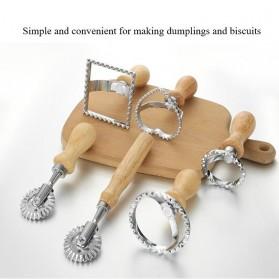Miki Cetakan Kue dan Biskuit Mould Dumpling Skin Bentuk Model Kotak - MH01 - 2