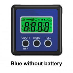 NEOTECK Alat Ukur Sudut Kemiringan Digital Protractor Inclinometer Level Angle Measuring with Magnetics - BMBN67 - Blue