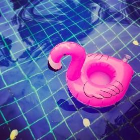 Doffy Pelampung Gelas Minum Kolam Renang Inflatable Cup Holder Model Flamingo - XY19 - Multi-Color - 3