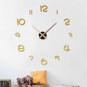 EMOYO Jam Dinding Besar DIY Giant Wall Clock Model Simple 60 CM - DIY-201 - Silver - 2