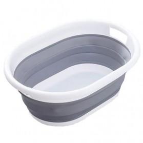XINYU Baskom Ember Lipat Laundry Water Bucket Foldable Collapsible - MX060 - Gray