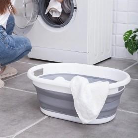 XINYU Baskom Ember Lipat Laundry Water Bucket Foldable Collapsible - MX060 - Gray - 3
