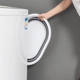 XINYU Baskom Ember Lipat Laundry Water Bucket Foldable Collapsible - MX060 - Gray - 5