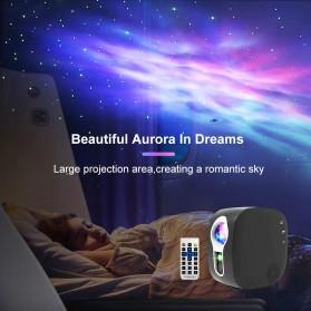 Newstyle Lampu Proyektor Tidur Cahaya Bintang Galaxy Light Starry Sky with Bluetooth Speaker - GX-334 - Black - 5