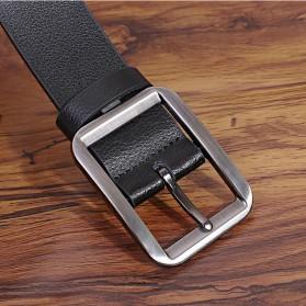 COLLERIE Tali Ikat Pinggang Pria Leather Belt Bahan Kulit - ZD096 - Black - 5