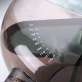 LMETJMA Sendok Ukur Adjustable Measuring Spoons Marking Magnetic Scoop 2 PCS - KC0602 - Blue - 3