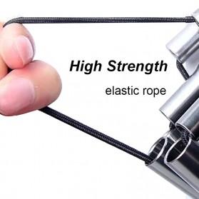 Harako Kursi Lipat Memancing Portable Collapsible Folding Chair Low Design - HK010 - Black - 4