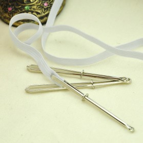 BASIC HOME Clip Kain Jahit Sewing Band Tape Punch Clamp 50PCS - Z-1024 - Silver