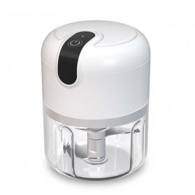 Blender Portable Food Chopper Mini Elektrik Garlic Masher 250ML - MGC220 - White